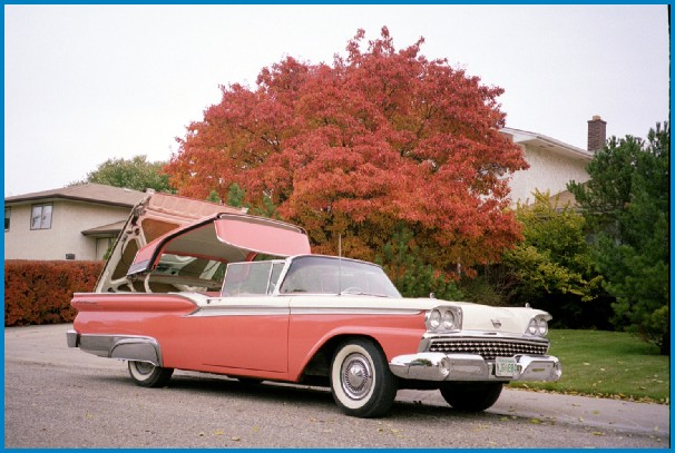 1959 Ford Skyliner (Retractable Hardtop)